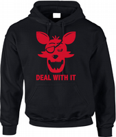 FNAF DEAL WITH IT HOODIE - INSPIRED BY FIVE NIGHTS AT FREDDYS